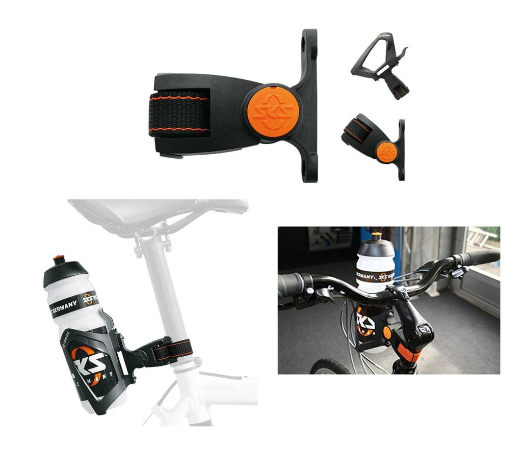 d0eba4dda69 Adaptér košíku na láhev na řidítka a sedlovku SKS