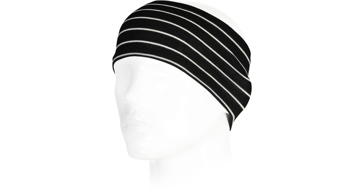 Čelenka Mons Royale merino HAINES HELMET LINER thin stripe  d836b36563