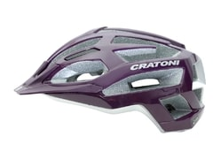 Cratoni C-Flash purple-silver glossy