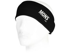 Čelenka Mons Royale merino ALICE BAND black   thick stripe 261a888452